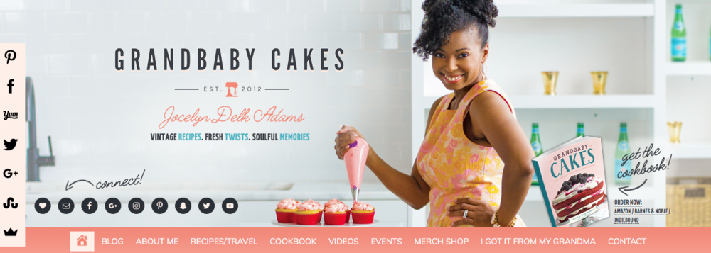 Grandbaby Cakes   A cooking and baking brand by Jocelyn Delk Adams
