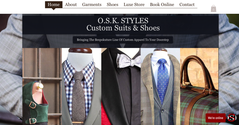 O.S.K. Styles   custom-made garments and shoes for men