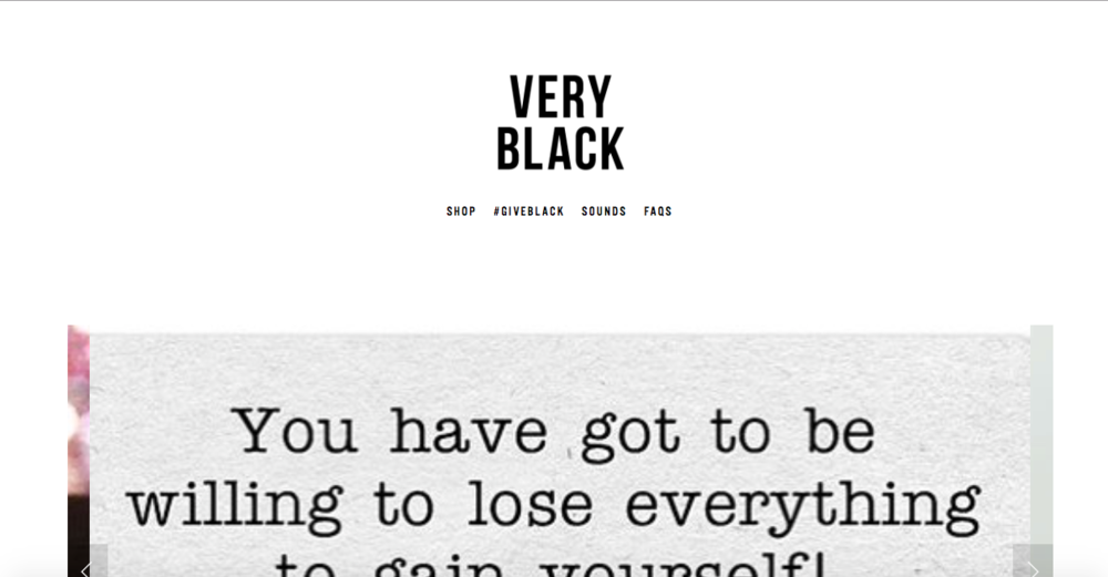 The Very Black Project   Black affirming apparel