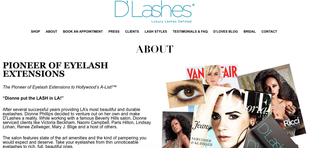 D'Lashes   Hypoallergenic and waterproof eyelashes