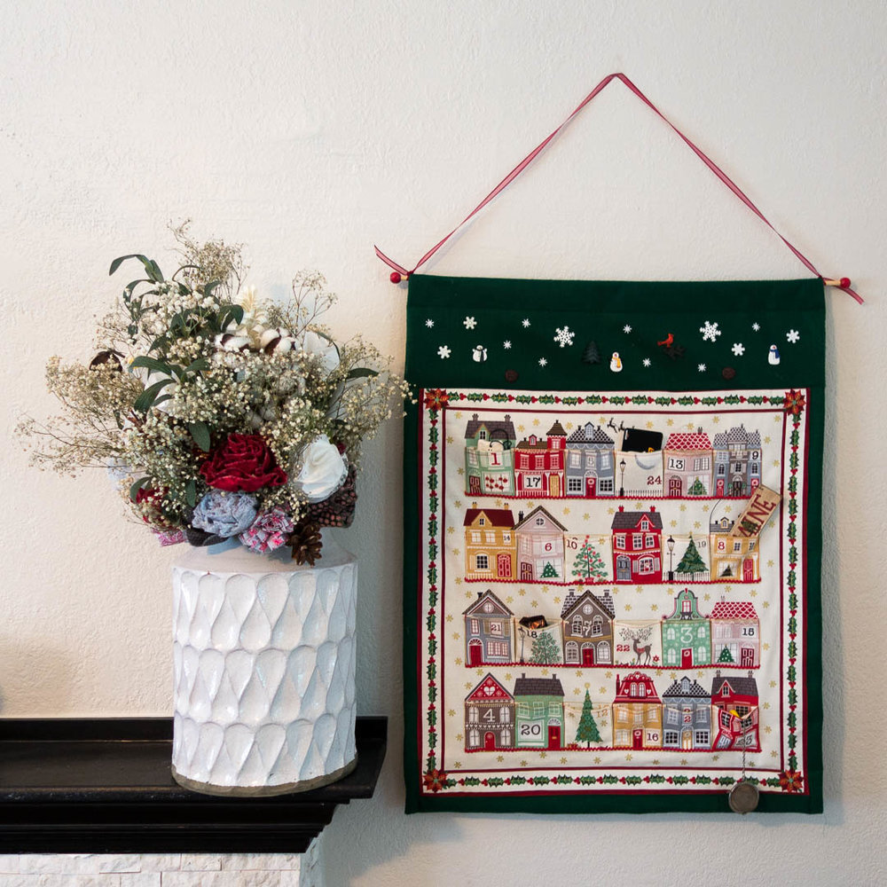 Handmade advent calendar - our first sale of the weekend! -