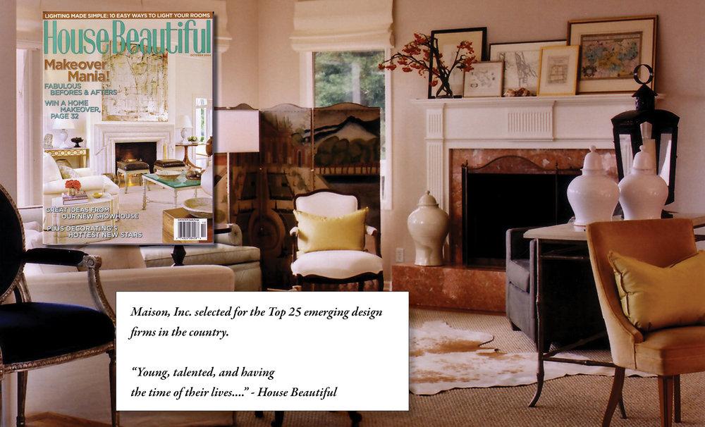 Press about maison inc interior design u maison inc