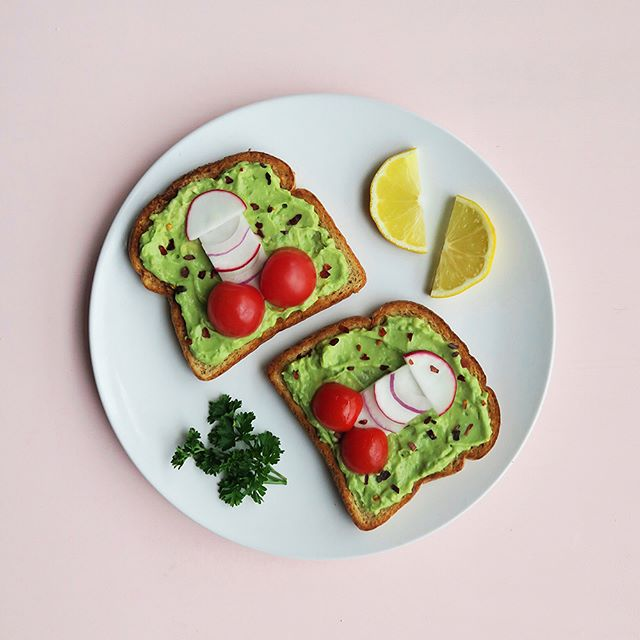 "*New recipe on the blog* Have you ever looked at your avocado toast and thought, ""This could really use some dick""? 🍆 Probably not, but just in case you have, here's some cute lil Avococko Toasts 4 u 💕🥑🍞 Watch our Story for more detailed instructions on how to make those vegetable peens to top your toasts 😉 Grab the full recipe at peencuisine.com or tap the link in our profile ✨"