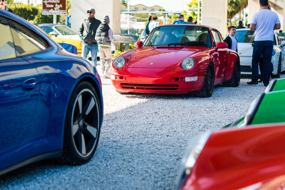 Porsches photographed by Adam Sheikh