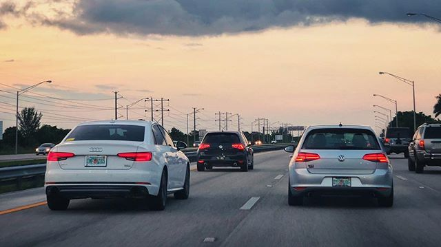 A real crew always rolls together. Pic by @theultimatecargirl and edit by @adamsheikh  #SixDriven #Audi #A4 #AudiA4 #VW #Golf #GTI #MK7 #VAG