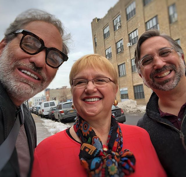#KindredSpirits  I had a blast on the #BeatBobbyFlay set today talking shop with @LidiaBastianich and @MarcoCanora  It's such a privilege to be a part of this amazing culture of restaurants here in #NYC, and we are some of its most seasoned warriors  #Holdingitdown #TalkAboutExperience #Dedication #Devotion #Passion #LoveForFamily #WeHaveItAll #ItaliansDoItBetter