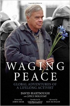 David Hartsough, co-founder of the Nonviolent PeaceForce, and author of  Waging Peace: Global Adventures of a Lifelong Activist  (PM Press, 2014).