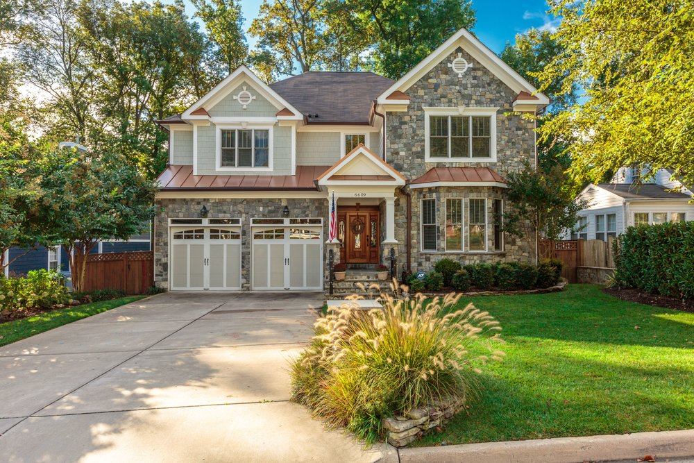 under contract ·  6609 Orland Street, Falls Church VA  ·  5 BD | 4 FB | 2 HB | $1,625,000