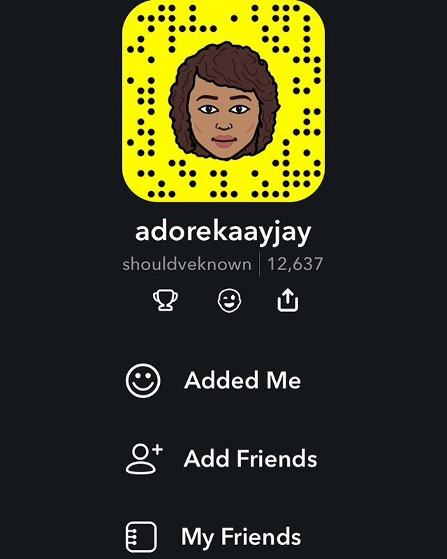 I need some more friends on snap 😎 Snapchat: shouldveknown