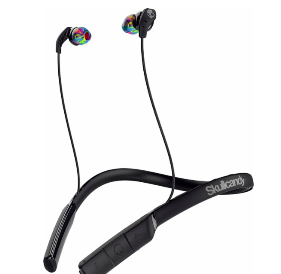 Skullcandy - Method Wireless In-Ear Headphones - Black/Swirl  $29.99
