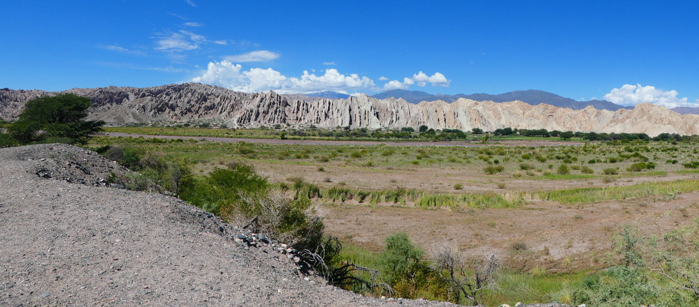 The last day of our road trip was from Cafayate to Cachi and then back to Salta. Most of the day was spent driving the Calchiquies Valley where the scenrey is spectacular - especially if you happen to be a geologist.