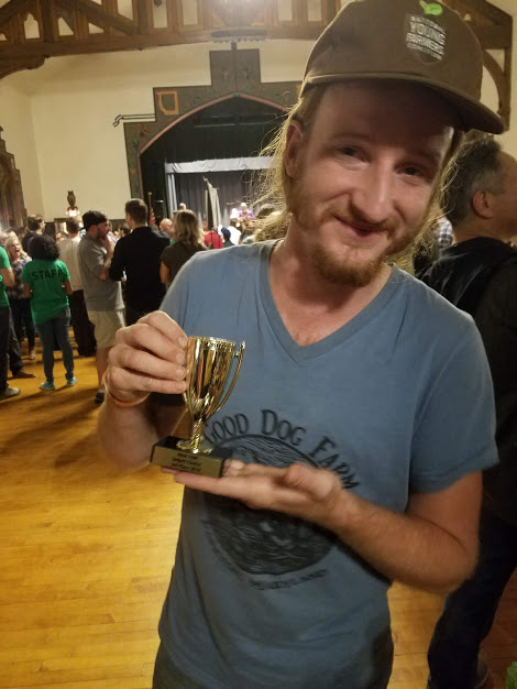 Bryan with his trophy!