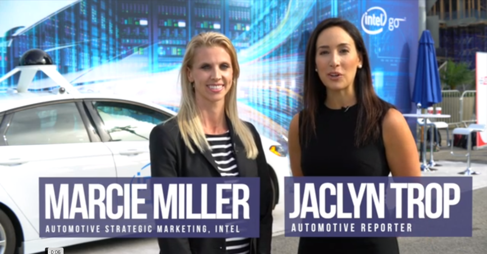 Access Video  :  Intel Doubles Down on Connected Car, Autonomous Vehicle Investments