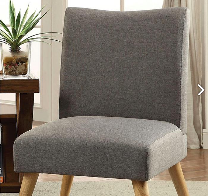 Grey Maxim Accent Chair.png & Maxim Grey Accent Chair u2014 Milleru0027s Home Furnishings