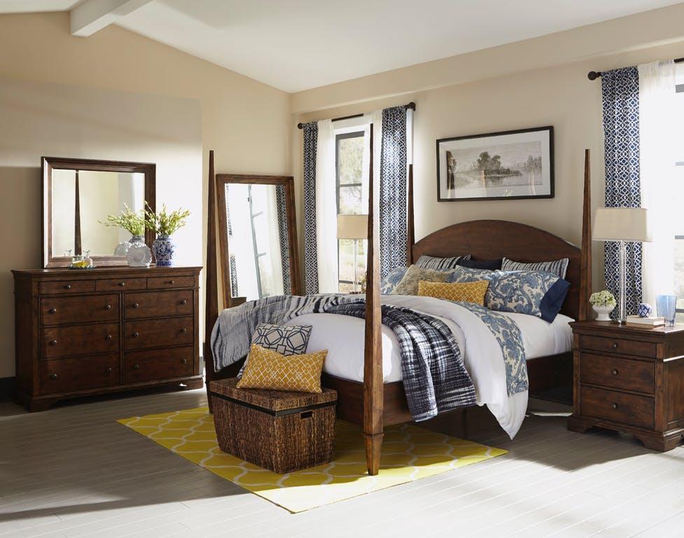 Jasper 4-Poster Bedroom Set — Miller\'s Home Furnishings