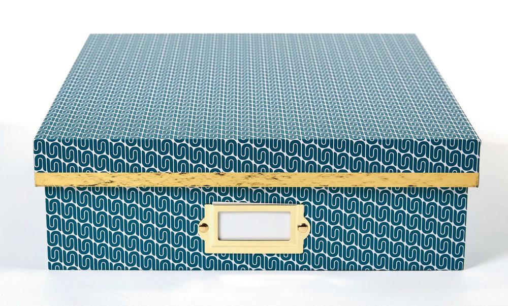 DS desktop storage box blue vitchy pattern closed.jpg