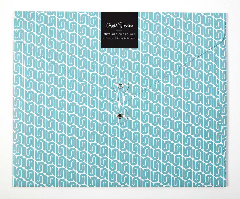 DS file folder horizontal envelope blue vichy.jpg
