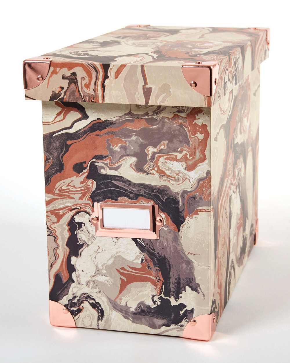 DS file box marble pattern file box with rose gold closed.jpg