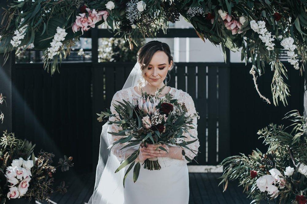 Floral wedding backdrops