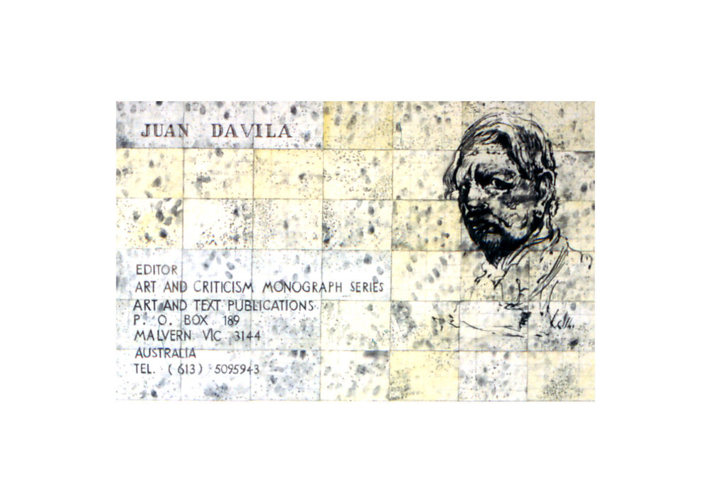 Imants Tillers   A Map of Limited Scope , 1992  charcoal, gouache, synthetic polymer paint on 42 canvasboards nos. 34361 - 34402 76 x 124.5 cm