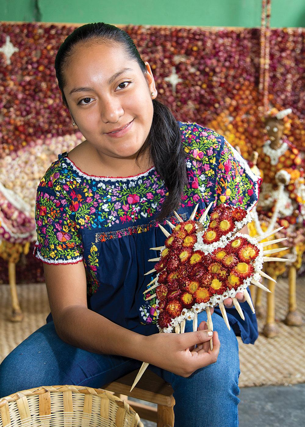 Friends of Oaxacan Folk Arts — Dried flower crafts #5.jpg