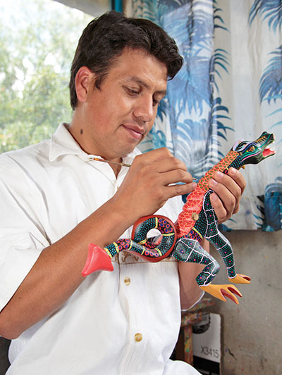 Friends of Oaxacan Folk Art — Woodcarving #39.jpg