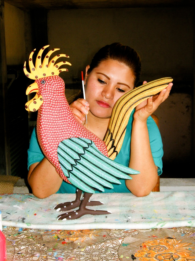 Friends of Oaxacan Folk Art — Woodcarving #47.jpg