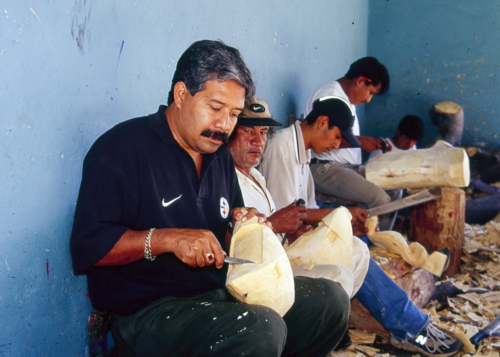 Friends of Oaxacan Folk Art — Woodcarving #51.jpg