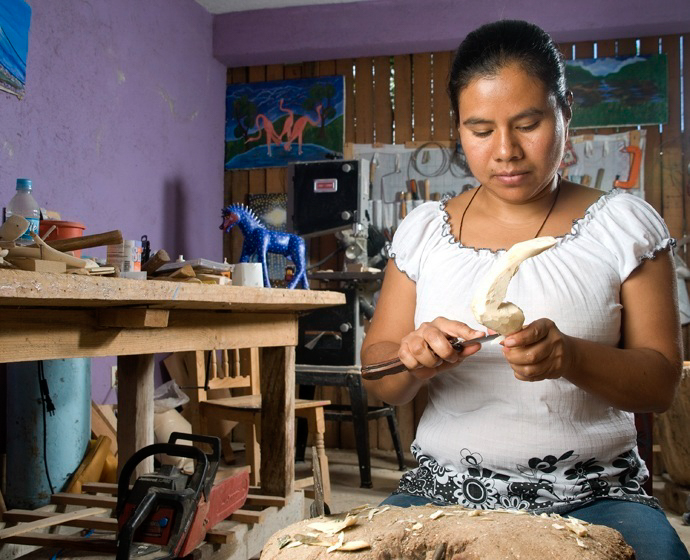 Friends of Oaxacan Folk Art — Woodcarving #59.jpg