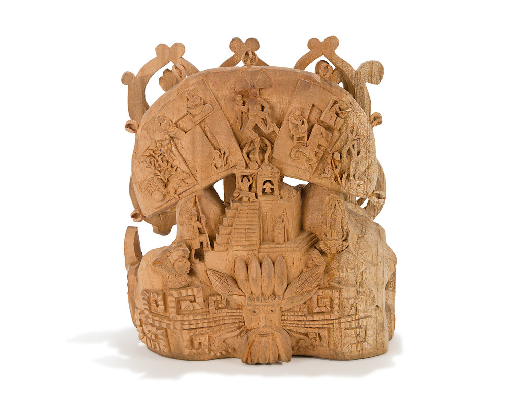 Friends of Oaxacan Folk Art — Woodcarving #62.jpg