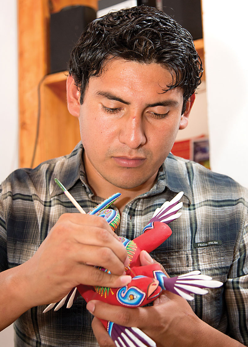Friends of Oaxacan Folk Art — Woodcarving #63.jpg