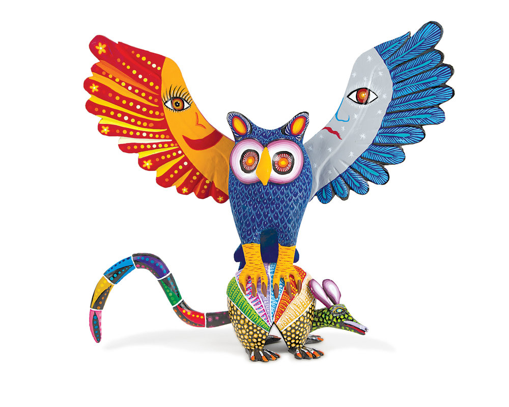 Friends of Oaxacan Folk Art — Woodcarving #93.jpg