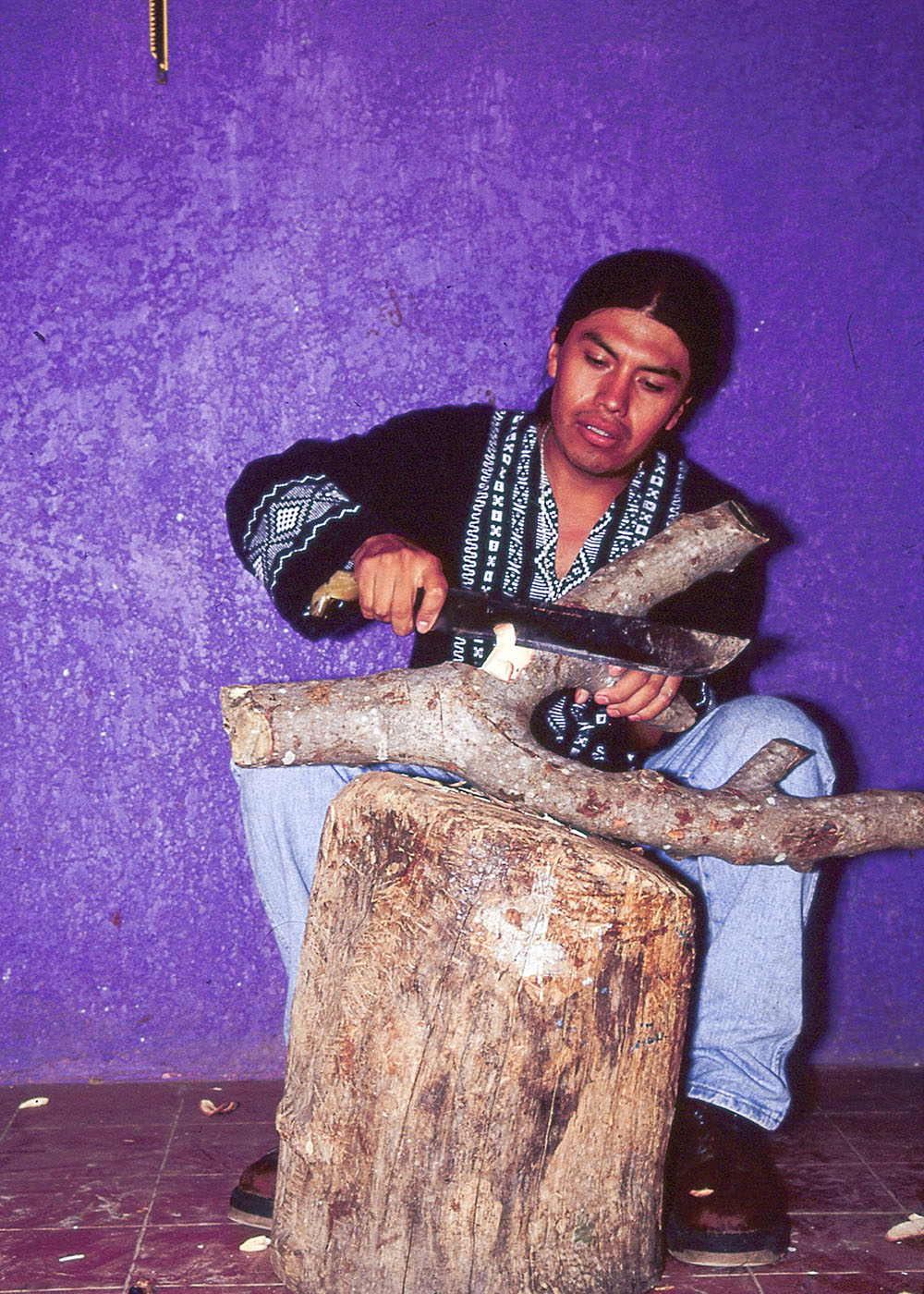 Friends of Oaxacan Folk Art — Woodcarving #100.jpg