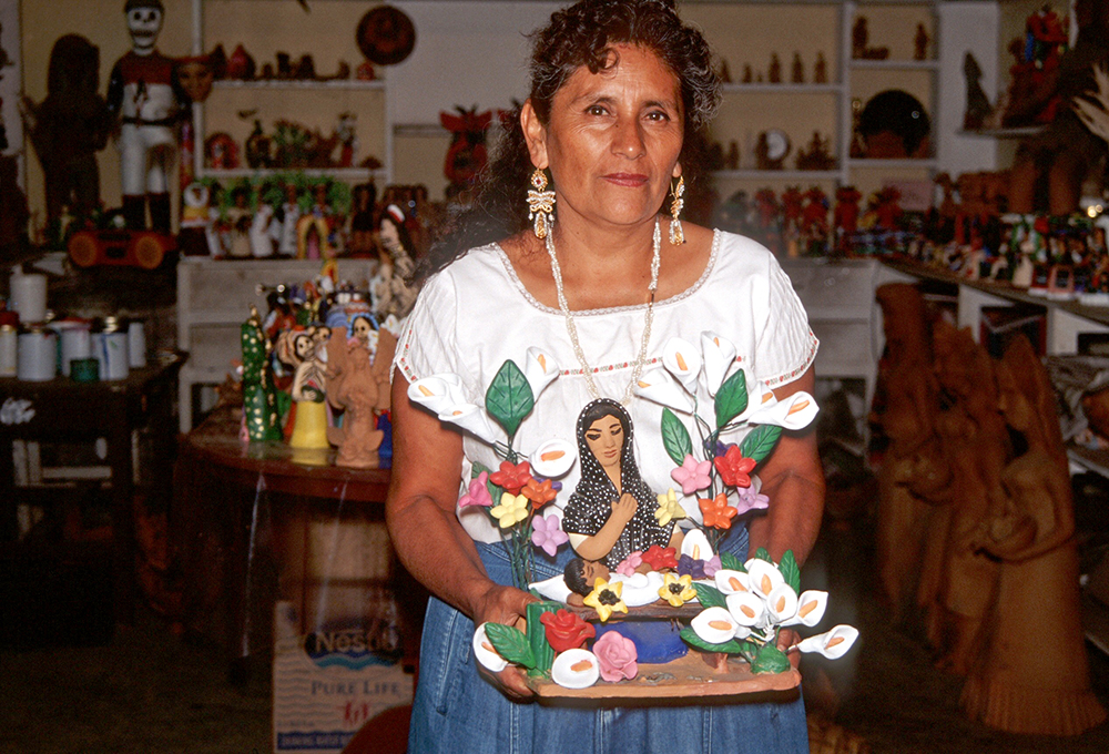 Friends of Oaxacan Folk Art — Painted red #6.jpeg