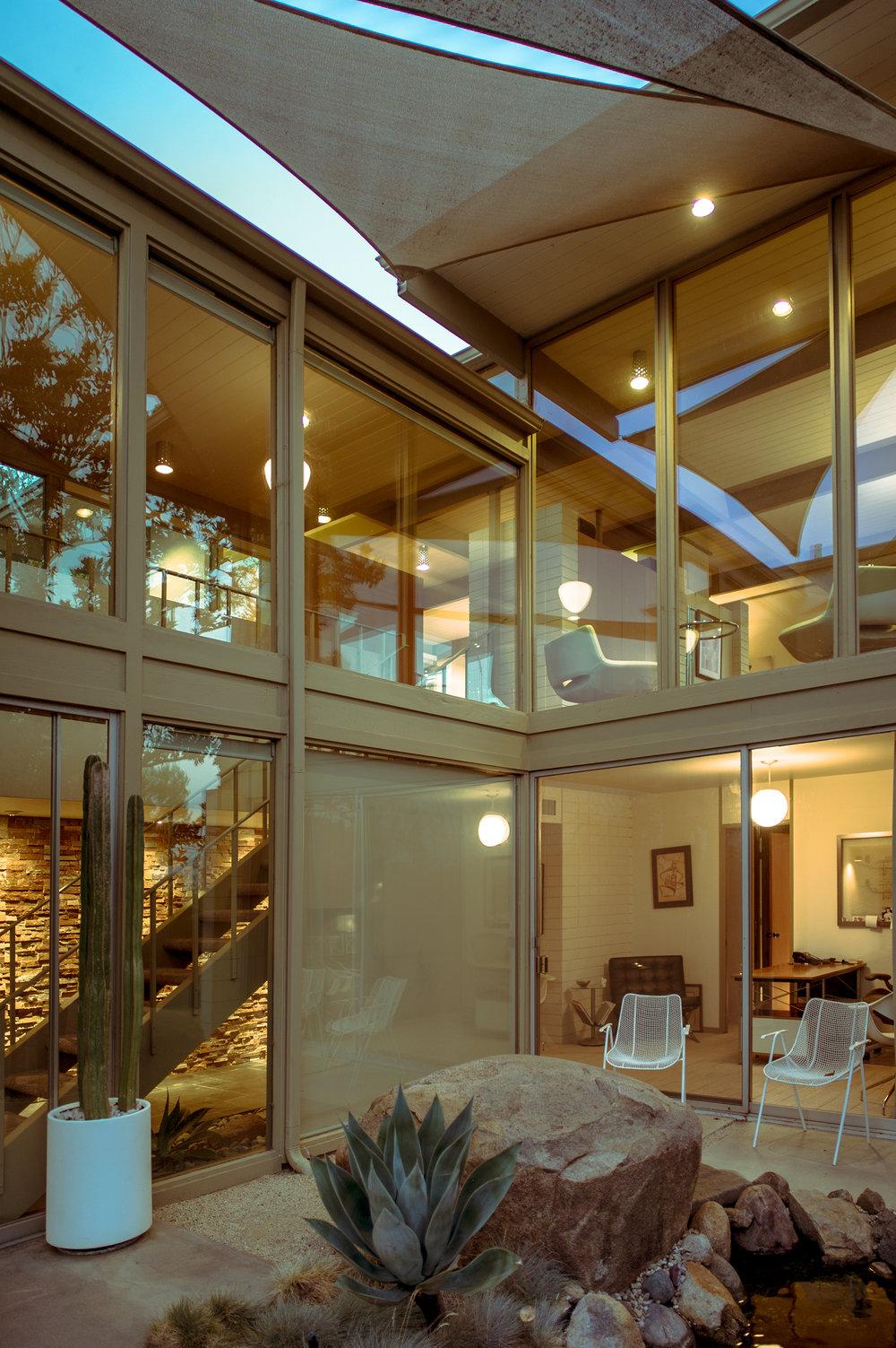 Hindman residence. Jock Mock architect, 1961