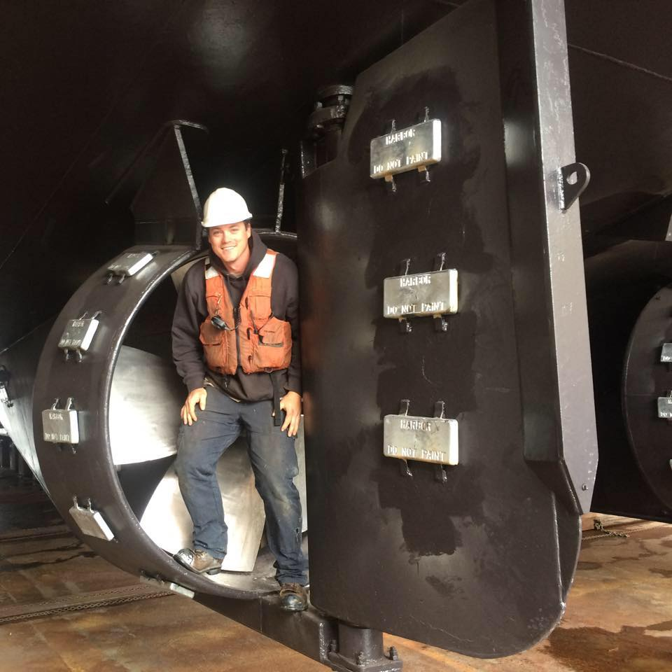 Richie Borneman, Deckhand    Richie is an experienced and committed Deckhand.  He's been working for Fremont Tugboat Co. for years and helps out with dock repair, captain assisting and everything in between.  He's always enjoyed boating and working outside.
