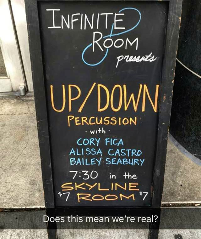 🤣🤣 #percussionist #percussion #southcarolina #columbia #classicalmusic #contemporarymusic #drums #livemusic #nightlife