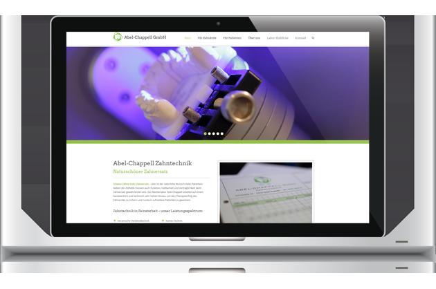 10/2016 LaunchAbel-Chappell Zahntechnik - Konzeption & Webtext by BONNINSKIWebdesign: Bernd KreuderFotos: Felix von Canstein