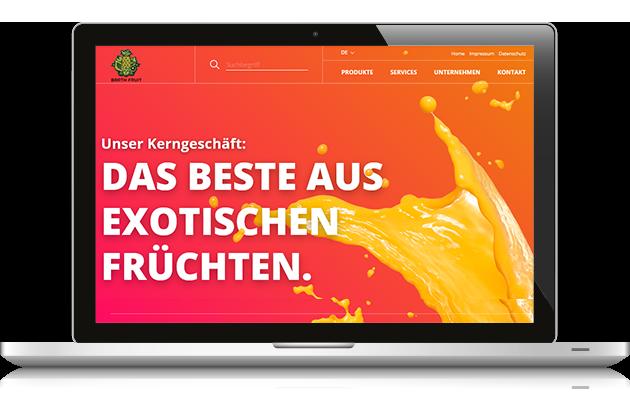 10/2017 Relaunch - Barthfruit.ch zur Anuga 2017 in KölnText, Konzeption by BONNINSKI (außer Produkte)Webdesign, Frontend-Tec: Michael Rolfsendriven by: CMS Administrator/avaris