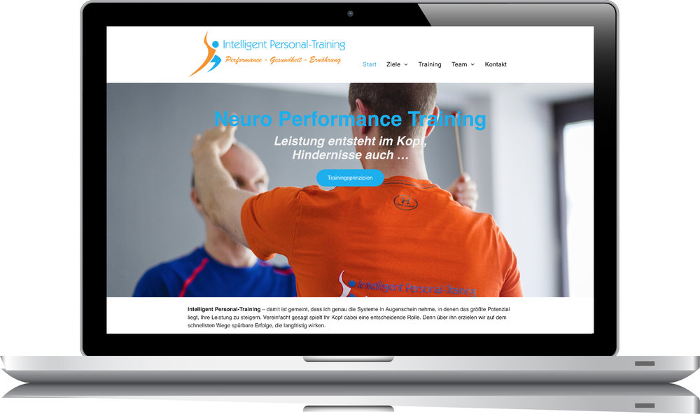 05/2018 RelaunchIntelligent Personal-Training - Konzeption + Text;Content-Managementby BONNINSKI