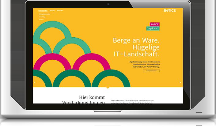11/2018 LaunchBeTICS - Konzeption & Webtexte by BONNINSKICorporate Design, Webdesign: Kathrin Rolfsen