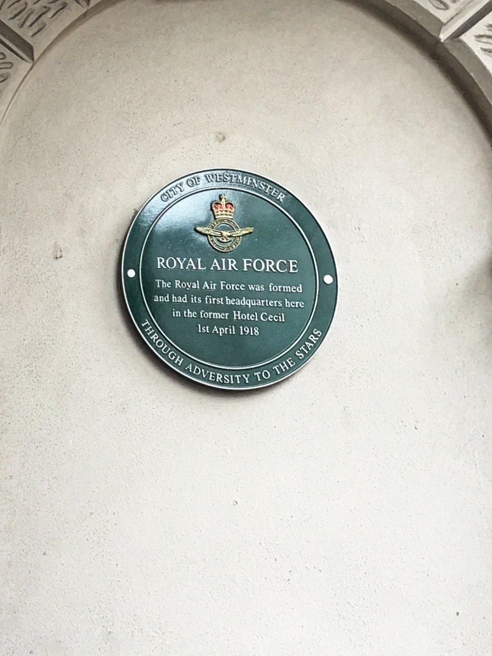 Original R.A.F. Headquarters