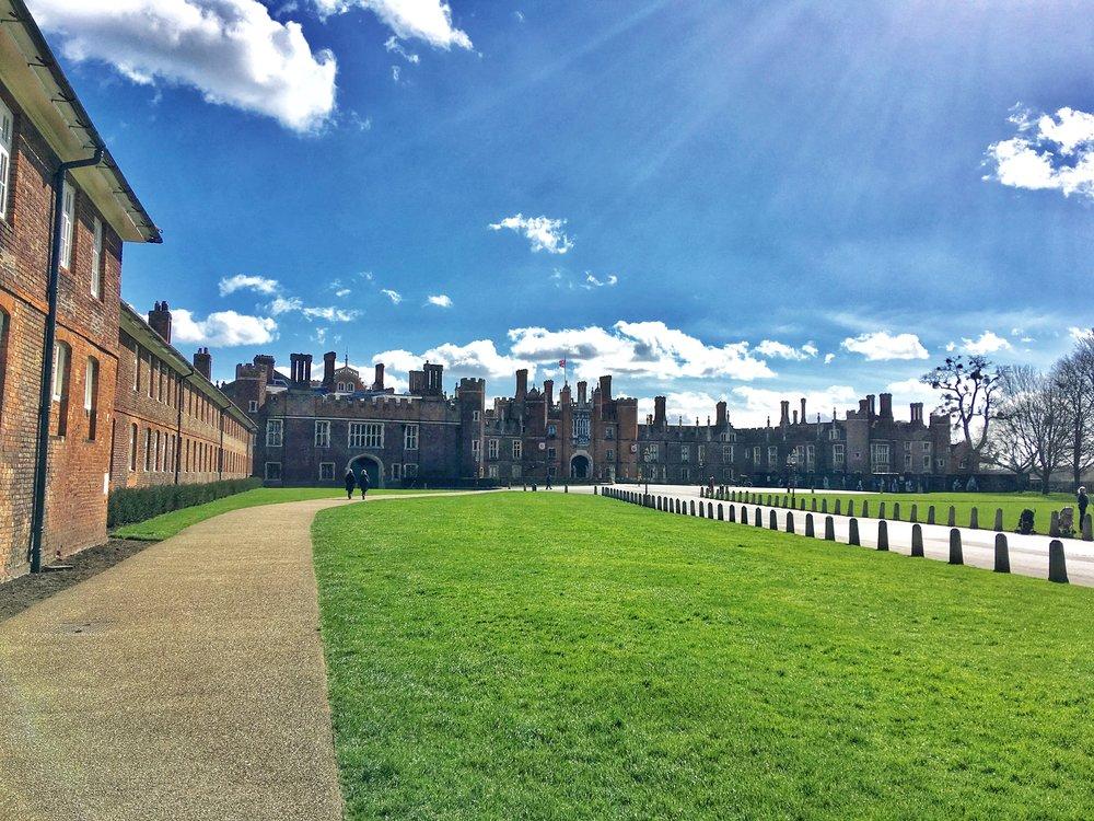 Hampton Court Front