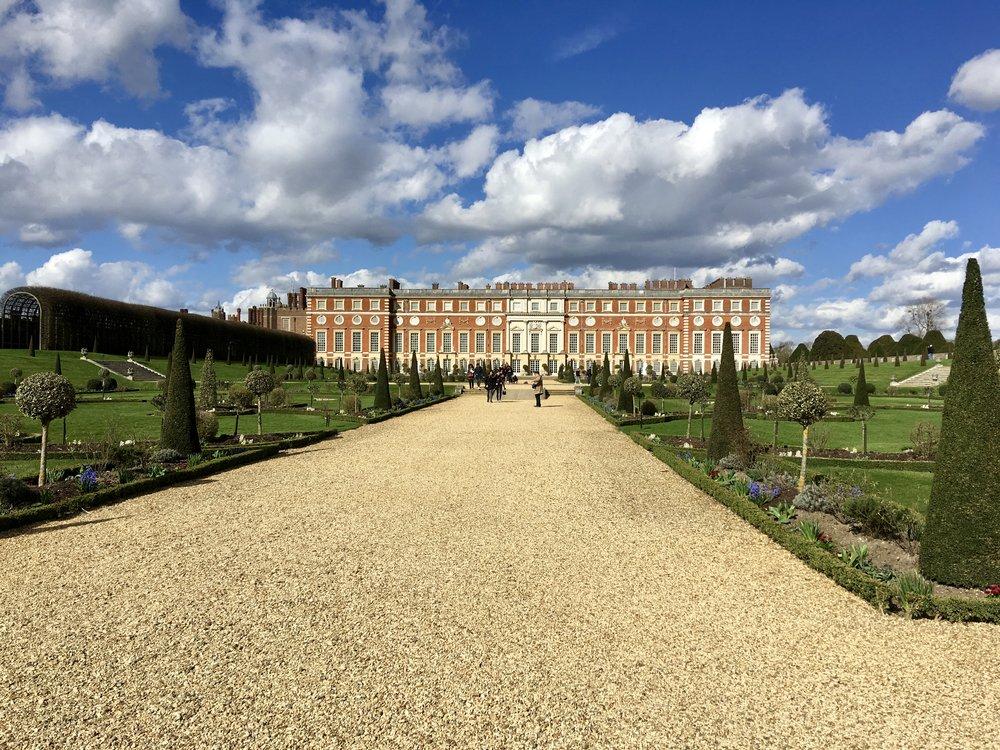 Hampton Court Side View