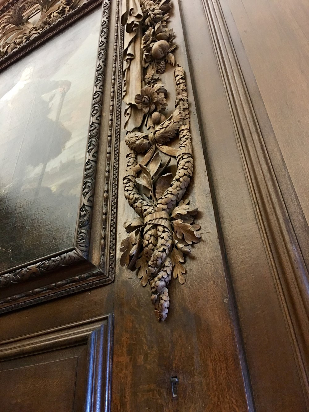 Detailed Woodwork