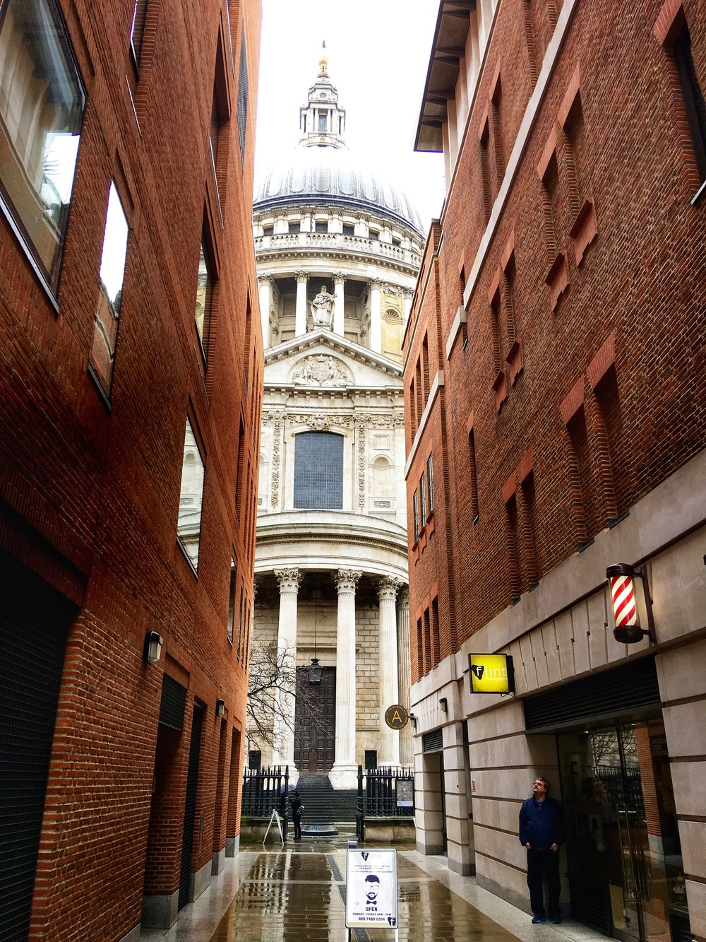 Narrow View of St. Paul's