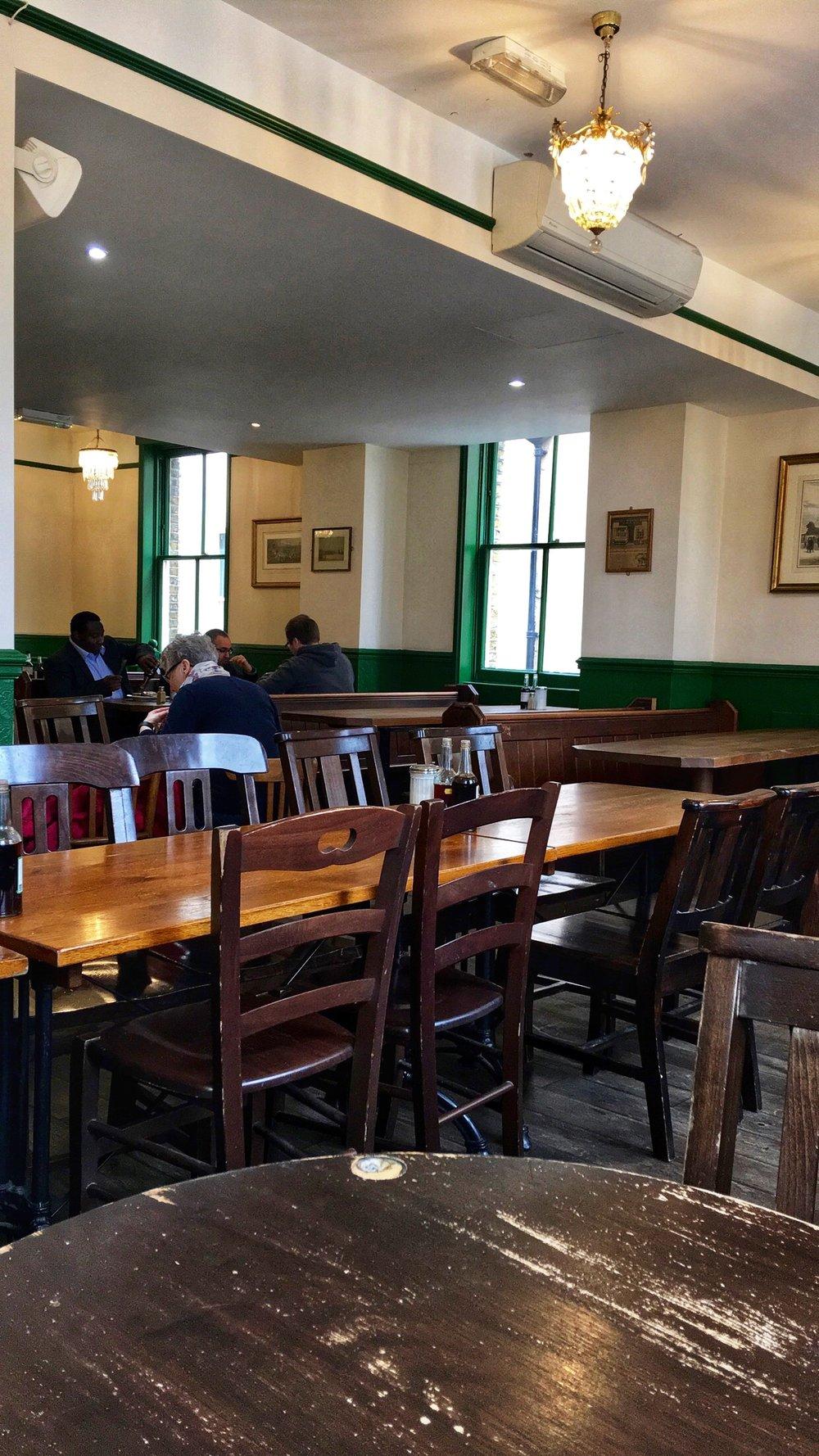 Upstairs Dining at Goddard's