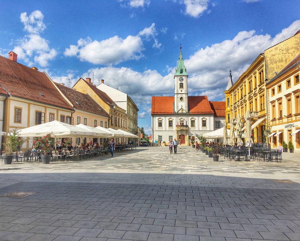 Varazdin Old Town