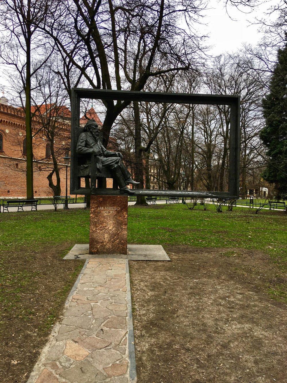 Jan Matejko Monument