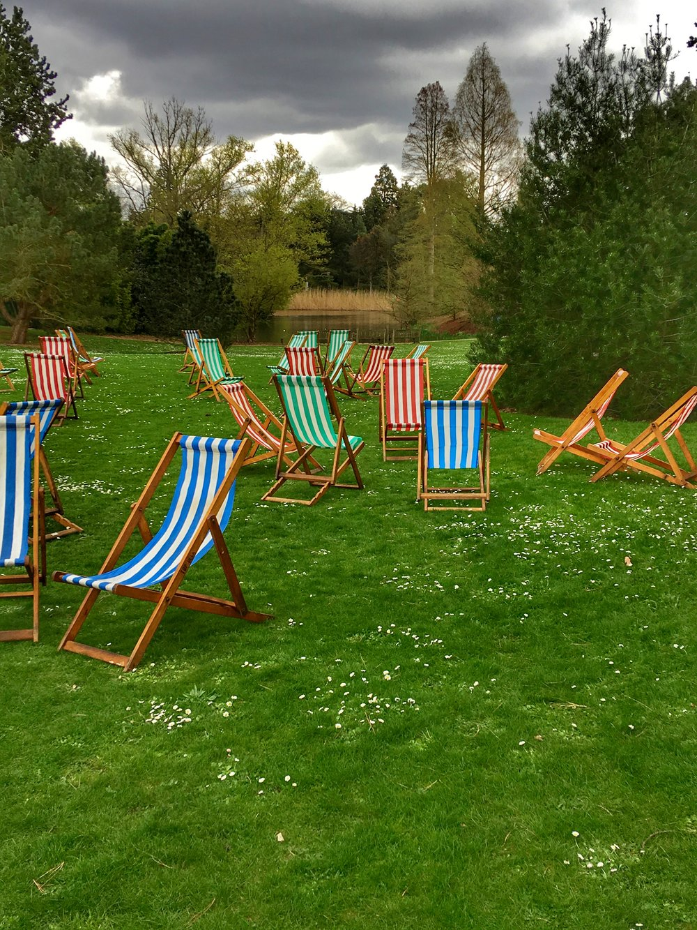 Striped Chairs of Kew